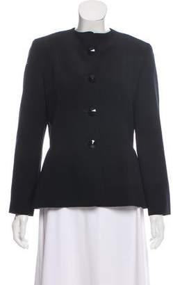 Lanvin Wool Collarless Jacket
