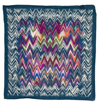 Missoni Printed Woven Pocket Square