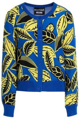 Moschino Printed Silk-Blend Cardigan
