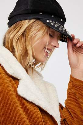 Understated Leather Tell me About It Stud Lieutenant Hat