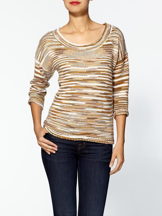 Tulle 3/4 Sleeve Sweater