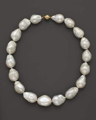 Bloomingdale's Baroque Freshwater Pearl Necklace in 14K Yellow Gold, 17""