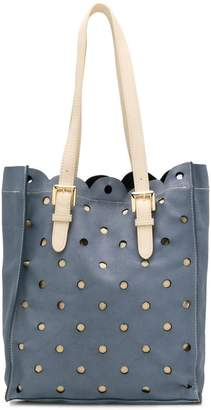 Moschino Cheap & Chic perforated shoulder bag