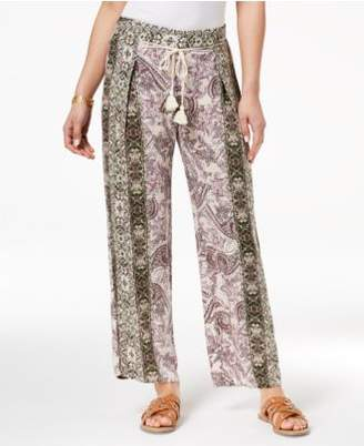 Be Bop Juniors' Printed Pull-On Pants