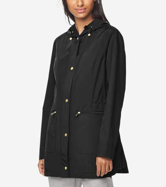 Quilted Lined Travel Rain Jacket