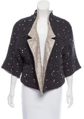 Theyskens' Theory Embellished Virgin Wool Jacket w/ Tags