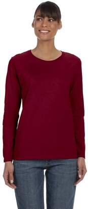 Gildan Ladies' 5.3 Oz. Heavy Cotton Missy Fit Long-Sleeve T-Shirt - 2XL