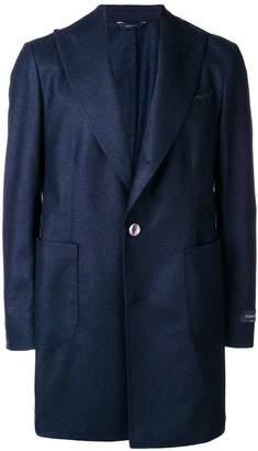 Tombolini classic single-breasted coat