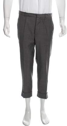 Maison Margiela Pinstripe Wool Dress Pants