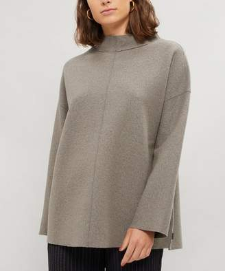 Oska Kvinda Boiled Wool Cotton Top