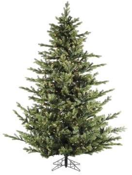 Fraser Hill Farms Foxtail Pine Multi-Color LED String Lighting Christmas Tree- 7.5 Ft.