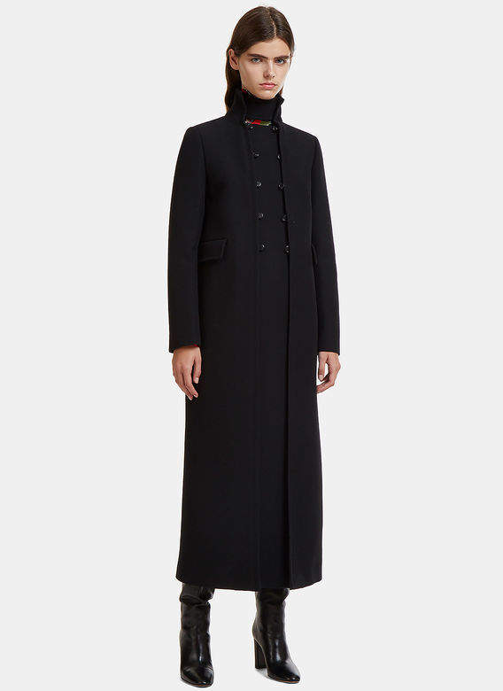 Long Length Lana Coat in Black