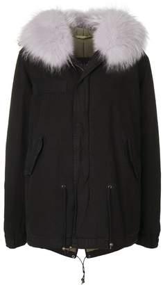 Mr & Mrs Italy fur trimmed jacket