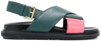 Marni Fussbett crossover sandals