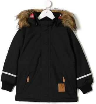 Mini Rodini hooded rain jacket