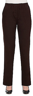 Allison Daley Pull-On Modern Straight Leg Pants $30 thestylecure.com