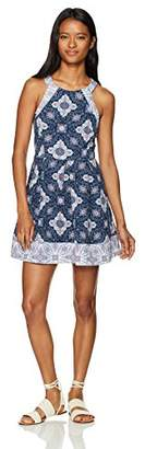 Jolt Won's Textured Mini Dress
