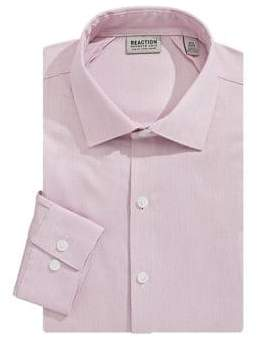 Kenneth Cole Reaction Slim Fit Long Sleeve Button-Down Shirt