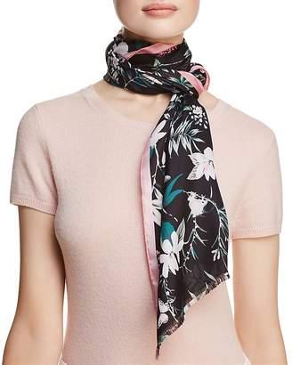 Kate Spade Botanical Silk Oblong Scarf