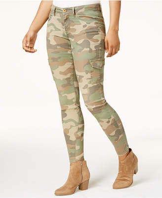 American Rag Juniors' Cotton Camo-Print Cargo Pants, Created for Macy's $49.50 thestylecure.com
