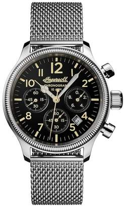 Ingersoll WATCHES Apsley Chronograph Mesh Strap Watch, 45mm