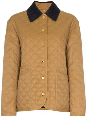 Burberry Dranefield quilted equestrian jacket