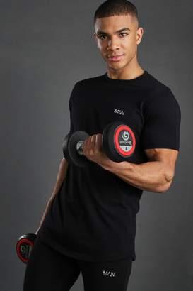boohoo Short Sleeve Active Gym T-Shirt