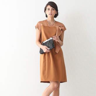 Designworks (デザインワークス) - デザインワークス バックサテンフリル飾りドレス