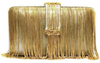 Simitri - Grey & Gold Braided Belt Chunky
