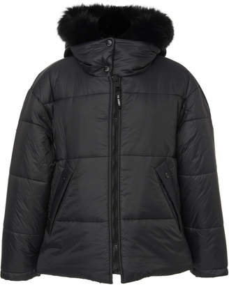 Yves Salomon Paris Oversized Fox-Trimmed Shell Puffer Jacket