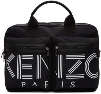 Kenzo Black Logo Briefcase