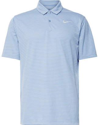 Nike Essential Striped Dri-Fit Golf Polo Shirt