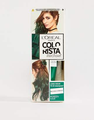 L'Oreal L Oral Pa Colorista Wash Out Hair Colour - Green