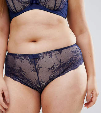 City Chic Eve Navy Brief
