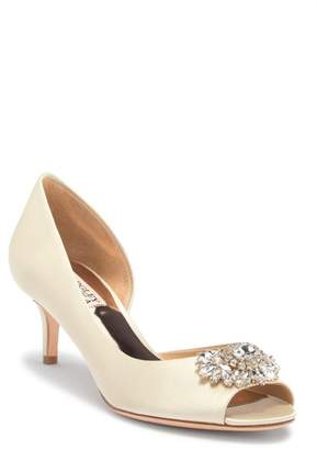Badgley Mischka Macie Peep Toe d'Orsay Pump - Wide Width Available