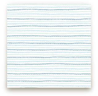 Handdrawn Scallop Fabric