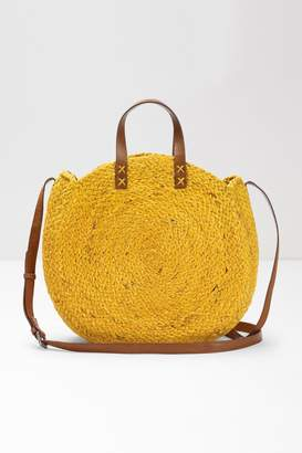 White Stuff Womens Yellow Amal Jute Cross Body Bag - Yellow