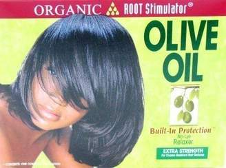 Organic Root Stimulator Oil Relaxer (Extra-strength) (3-Pack) with Free Nail File by