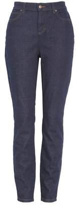 Eileen Fisher High Waist Stretch Organic Cotton Skinny Jeans