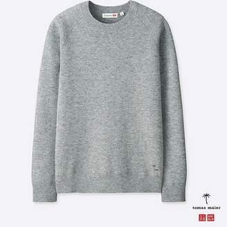 Uniqlo Men's Cashmere Crewneck Long-sleeve Sweater