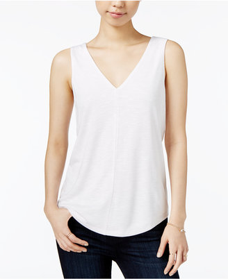 Maison Jules V-Neck Shell, Only at Macy's $29.50 thestylecure.com