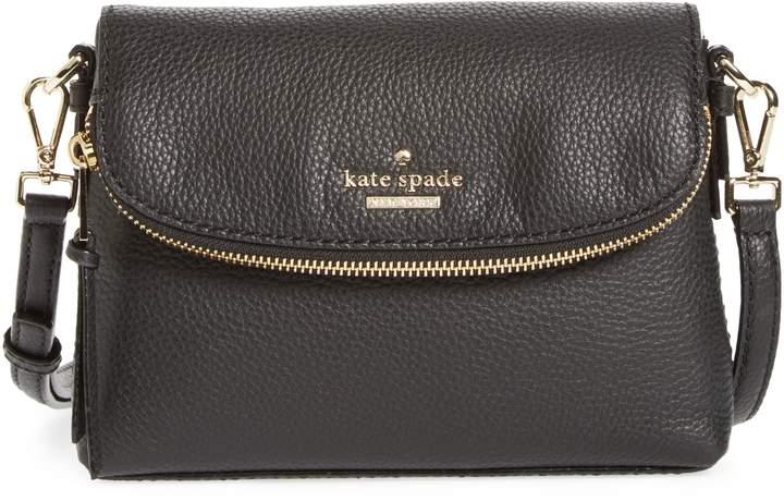 Kate Spade New York Jackson Street Small Harlyn Leather Crossbody Bag