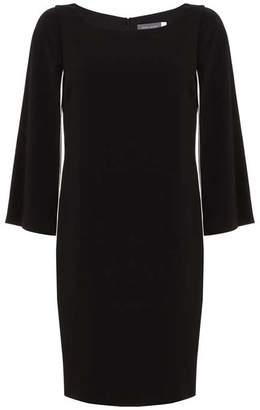 Mint Velvet Black Cape Dress