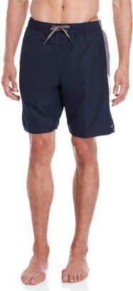 Nike Obsidian Side Stripe Volley Swim Shorts