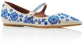 Tabitha Simmons Hermione Mary Jane Flats $775 thestylecure.com