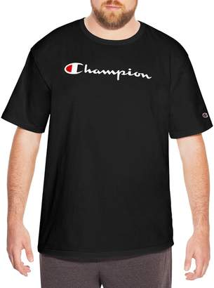 Champion Mens Big Tall Cotton Graphic Tee, 2XT