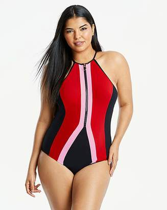 Figleaves Curve Bondi Zip Front Swimsuit