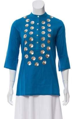 Figue Jasmine Embellished Tunic w/ Tags
