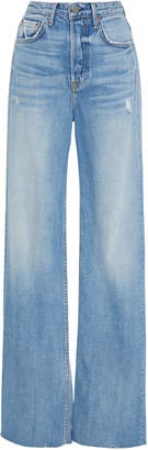 GRLFRND Denim Carla Super High-Rise Bell Jeans
