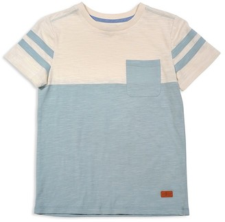 7 For All Mankind Boys' Color-Blocked Pocket Tee - Sizes 4-7 $25 thestylecure.com